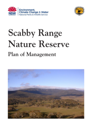 Scabby Range Nature Reserve Plan of Management