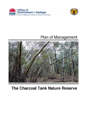 The Charcoal Tank Nature Reserve Plan of Management