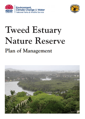 Tweed Estuary Nature Reserve Plan of Management cover