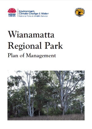 Wianamatta Regional Park Plan of Management