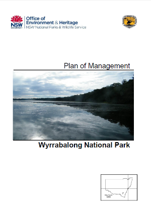 Wyrrabalong National Park Plan of Management cover