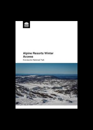 Alpine resorts winter access