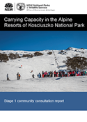 Carrying Capacity in the Alpine Resorts of Kosciuszko National Park cover