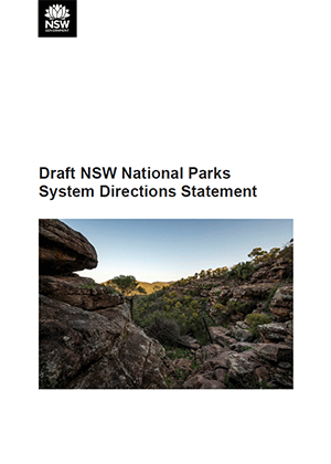 Draft NSW National Parks System Directions Statement