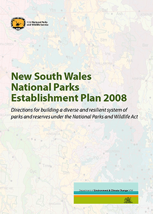 New South Wales National Parks Establishment Plan cover