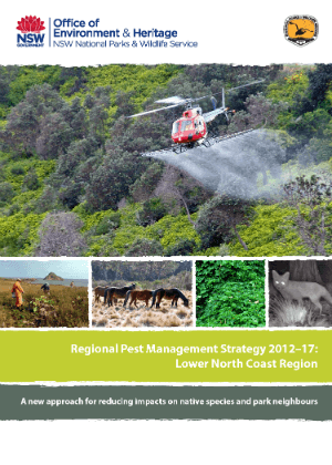 Regional Pest Management Strategy 2012-2017 Lower North Coast Region cover