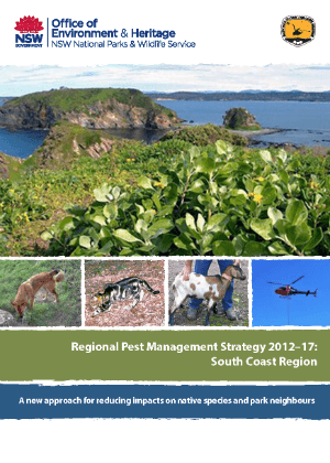 Regional Pest Management Strategy 2012-2017 South Coast Region cover