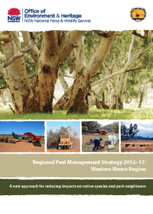 Regional Pest Management Strategy 2012-2017 Western Rivers Region cover