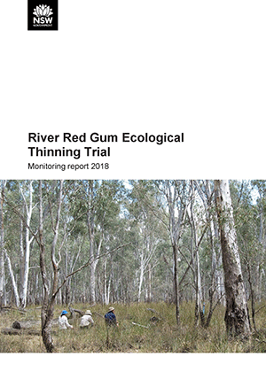 River Red Gum Ecological Thinning Trial Monitoring report 2018