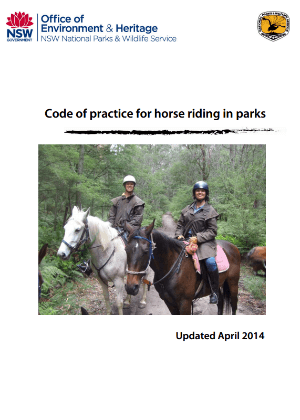 Horse riding policy | NSW Environment, Energy and Science
