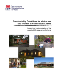 Sustainability Guidelines for Visitor Use Tourism in NSW National Parks cover