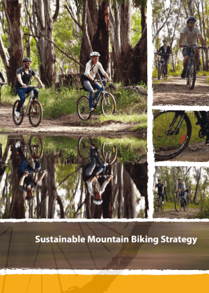 Sustainable Mountain Biking Strategy cover