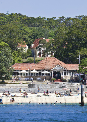 Nielsen Park Kiosk, Shark Beach, Sydney Harbour National Park