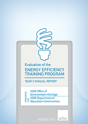 Cover of Evaluation of the Energy Efficiency Training Program Year 3 Annual report