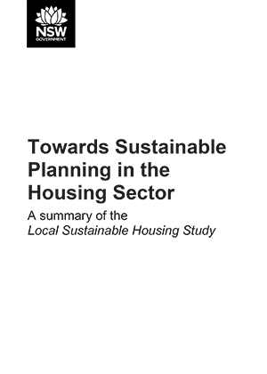 Towards Sustainable Planning in the Housing Sector