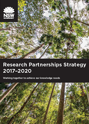 Cover of Research Partnerships Strategy
