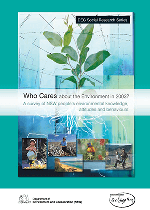 Who Cares about the Environment 2003 cover
