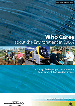 Who Cares about the Environment 2006 cover