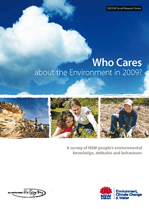 Who Cares about the Environment 2009 cover