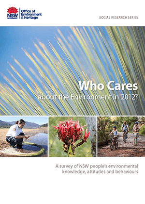Who Cares about the Environment 2012 cover