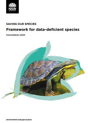Draft consultation data-deficient species cover