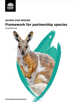 Draft consultation partnership species cover
