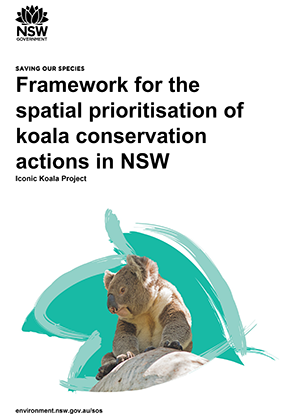 Framework for the spatial prioritisation of koala conservation actions in NSW