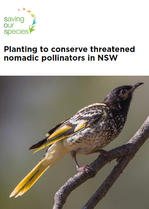 Planting to conserve threatened nomadic pollinators in NSW cover