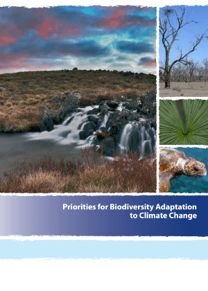 Priorities for biodiversity adaptation to climate change cover