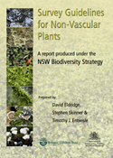 Survey guidelines for non-vascular plants cover