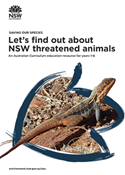 Let's find out about threatened animals that live in NSW