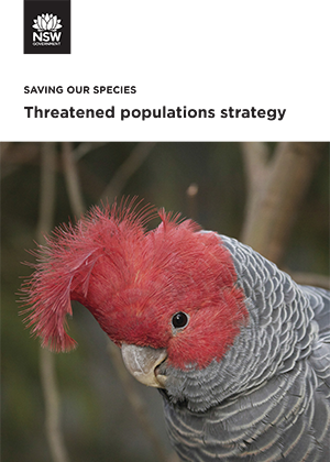 Threatened populations strategy