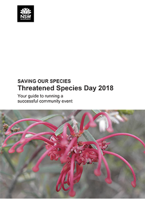 Threatened Species Day 2018: Your guide to running a successful community event