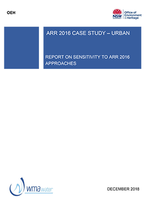 Australian Rainfall and Runoff 2016 Case Study - Urban