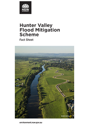 Hunter Valley Flood Mitigation Scheme Fact Sheet