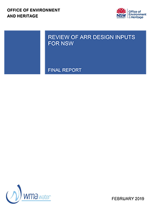 Review of ARR Design Inputs for NSW