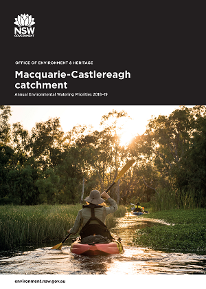 Cover of Macquarie-Castlereagh catchment: Annual Environmental Watering Priorities 2018-19