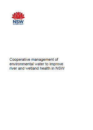 cooperative management environmental water cover