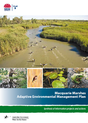 Macquarie Marshes Adaptive Environmental Management Plan cover