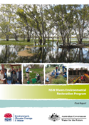 Rivers Environmental Restoration Project Final Report cover