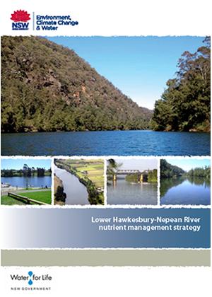Cover for Lower Hawkesbury-Nepean River Nutrient Management Strategy