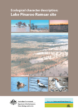 Ecological character description - Lake Pinaroo Ramsar site cover