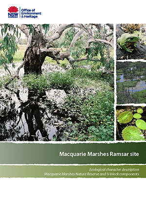 Ecological character description Macquarie Marshes Nature Reserve and U-block components cover