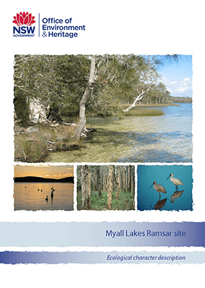 Myall Lakes Ramsar site ecological character description cover