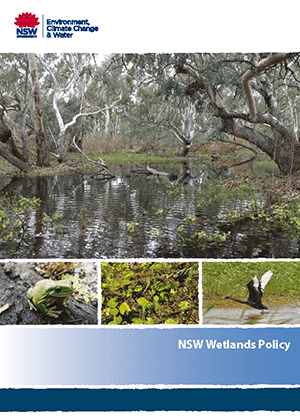 NSW Wetlands Policy cover