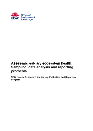 Assessing Estuary Ecosystem Health Sampling Data Analysis Reporting Protocols cover