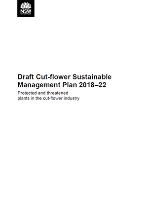 Draft Cut-flower Sustainable Management Plan 2018–22