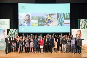 2017 Green Globe Awards finalists, group photo