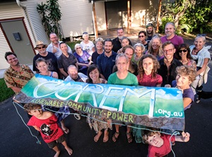 Supporters of Community-Owned Renewable Energy Mullumbimby (COREM)