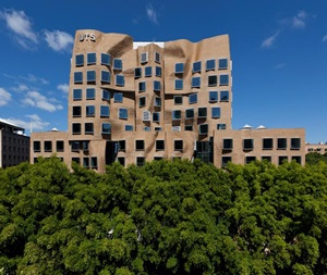 Paper bag building, University of Technology Sydney